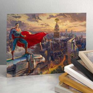 "Superman - Protector of Metropolis - 11"" X 14"" Art Print (unframed) 94293"