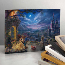 "Load image into Gallery viewer, Beauty and the Beast Dancing in the Moonlight - 11"" x 14"" Art Print 96403"
