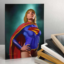 "Load image into Gallery viewer, Super Girl - 11"" x 14"" Art Prints (unframed) 97664"