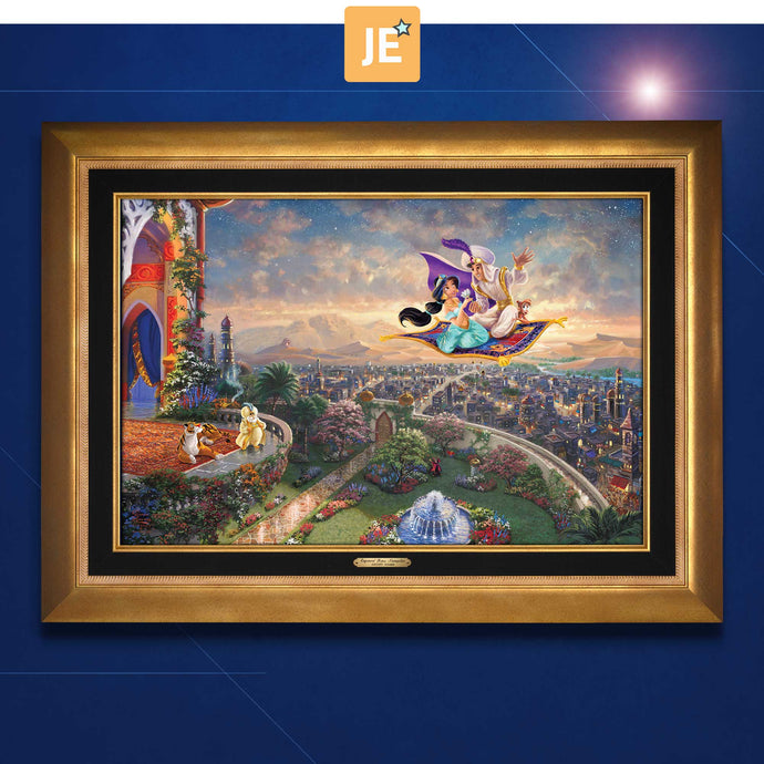 Aladdin - Limited Edition Canvas (JE - Jewel Edition) - ArtOfEntertainment.com