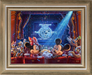 90 Years of Mickey - Limited Edition Canvas (JE - Jewel Edition) - ArtOfEntertainment.com