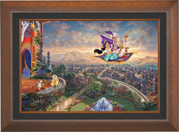 Aladdin - Limited Edition Canvas (SN - Standard Numbered) - ArtOfEntertainment.com