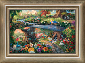 Disney Alice in Wonderland - Limited Edition Canvas (SN - Standard Numbered) - ArtOfEntertainment.com