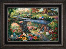 Load image into Gallery viewer, Disney Alice in Wonderland - Limited Edition Canvas (JE - Jewel Edition) - ArtOfEntertainment.com