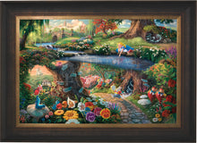 Load image into Gallery viewer, Disney Alice in Wonderland - Limited Edition Canvas (SN - Standard Numbered) - ArtOfEntertainment.com