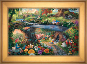 Disney Alice in Wonderland - Limited Edition Canvas (JE - Jewel Edition) - ArtOfEntertainment.com