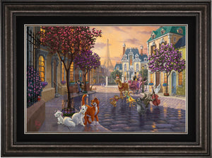 Aristocats - Limited Edition Canvas (SN - Standard Numbered) - ArtOfEntertainment.com