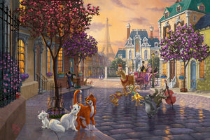 Aristocats - Limited Edition Canvas - SN - (Unframed)