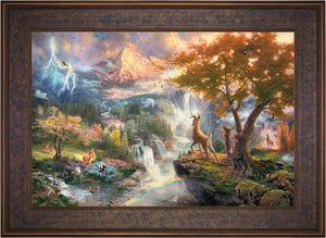 Bambi's First Year - Limited Edition Canvas (SN - Standard Numbered) - ArtOfEntertainment.com