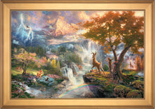 Load image into Gallery viewer, Bambi's First Year - Limited Edition Canvas (JE - Jewel Edition) - ArtOfEntertainment.com