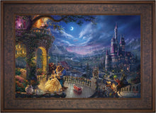Load image into Gallery viewer, Beauty and the Beast Dancing in the Moonlight - Limited Edition Canvas (SN - Standard Numbered) - ArtOfEntertainment.com