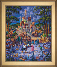 Load image into Gallery viewer, Beauty and the Beast Finding Love - Limited Edition Canvas (SN - Standard Numbered) - ArtOfEntertainment.com