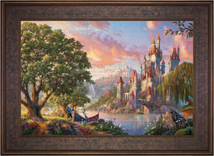 Beauty and the Beast II - Limited Edition Canvas (JE - Jewel Edition) - ArtOfEntertainment.com