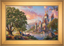 Load image into Gallery viewer, Beauty and the Beast II - Limited Edition Canvas (JE - Jewel Edition) - ArtOfEntertainment.com