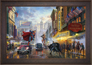 Batman, Superman, Wonder Woman - Limited Edition Canvas (SN - Standard Numbered) - ArtOfEntertainment.com