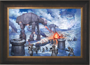 The Battle of Hoth - Limited Edition Canvas (SN - Standard Numbered) - ArtOfEntertainment.com