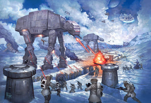 The Battle of Hoth - Limited Edition Canvas - SN - (Unframed)
