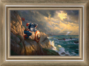 Captain America - Sentinel of Liberty - Limited Edition Canvas (SN - Standard Numbered) - ArtOfEntertainment.com