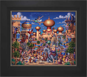 Aladdin - Celebration in Agrabah - Limited Edition Canvas (SN - Standard Numbered)