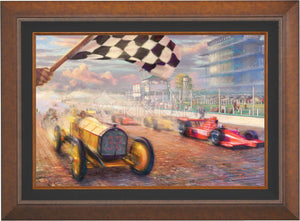A Century of Racing! - Limited Edition Canvas (SN - Standard Numbered) - ArtOfEntertainment.com