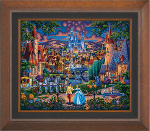 Cinderella's Enchanted Evening - Limited Edition Canvas (AP - Artist Proof) - ArtOfEntertainment.com