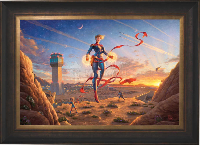 Captain Marvel - Dawn of A New Day - Limited Edition Canvas (SN - Standard Numbered) - ArtOfEntertainment.com