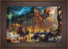 Load image into Gallery viewer, The Dark Knight Saves Gotham City - Limited Edition Canvas (SN - Standard Numbered) - ArtOfEntertainment.com