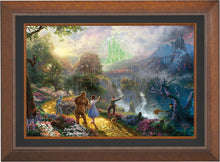 Load image into Gallery viewer, Dorothy Discovers the Emerald City - Limited Edition Canvas (SN - Standard Numbered) - ArtOfEntertainment.com