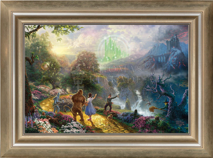 Dorothy Discovers the Emerald City - Limited Edition Canvas (SN - Standard Numbered) - ArtOfEntertainment.com