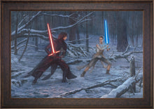 Load image into Gallery viewer, The Duel: Rey vs. Ren - Limited Edition Canvas (SN - Standard Numbered) - ArtOfEntertainment.com
