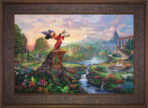 Fantasia - Limited Edition Canvas (JE - Jewel Edition) - ArtOfEntertainment.com