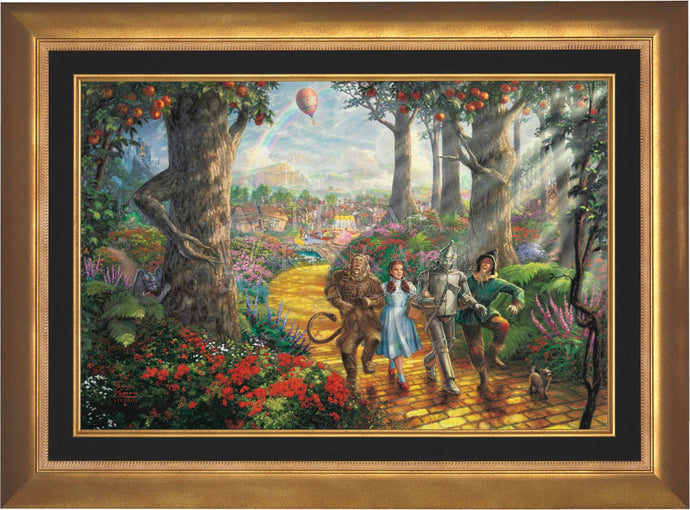 Follow The YELLOW BRICK ROAD - Limited Edition Canvas (SN - Standard Numbered) - ArtOfEntertainment.com