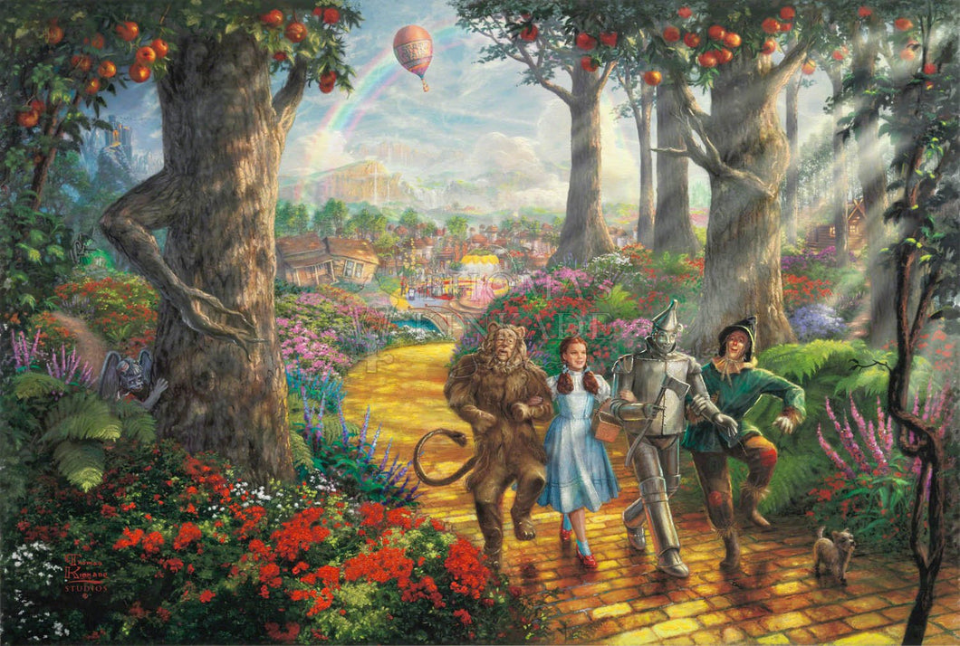 Follow The YELLOW BRICK ROAD - Limited Edition Canvas - SN - (Unframed)