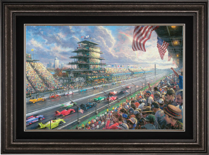 Indy Excitement® - Limited Edition Canvas (SN - Standard Numbered) - ArtOfEntertainment.com