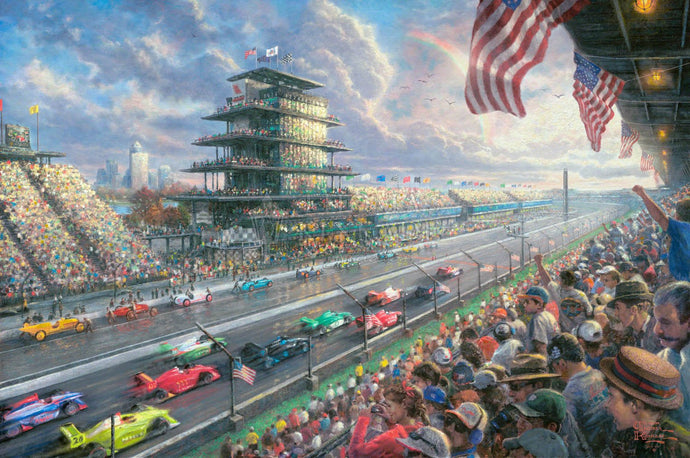 Indy Excitement - Limited Edition Canvas - SN - (Unframed)