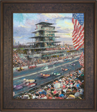 Load image into Gallery viewer, Indianapolis Motor Speedway® 100th Anniversary Study - Limited Edition Canvas (SN - Standard Numbered) - ArtOfEntertainment.com