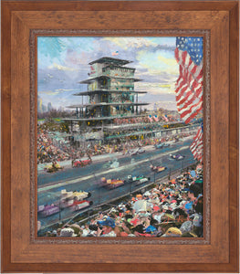 Indianapolis Motor Speedway® 100th Anniversary Study - Limited Edition Canvas (SN - Standard Numbered) - ArtOfEntertainment.com