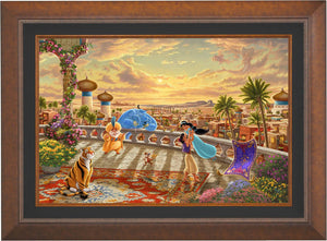 Jasmine Dancing in the Desert Sun - Limited Edition Canvas (SN - Standard Numbered) - ArtOfEntertainment.com