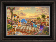 Load image into Gallery viewer, Jasmine Dancing in the Desert Sun - Limited Edition Canvas (JE - Jewel Edition) - ArtOfEntertainment.com