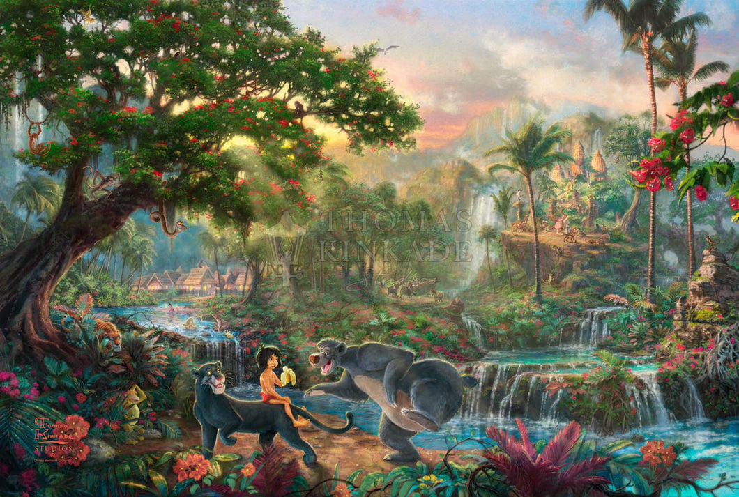 Jungle Book, The - Limited Edition Canvas - JE - (Unframed)