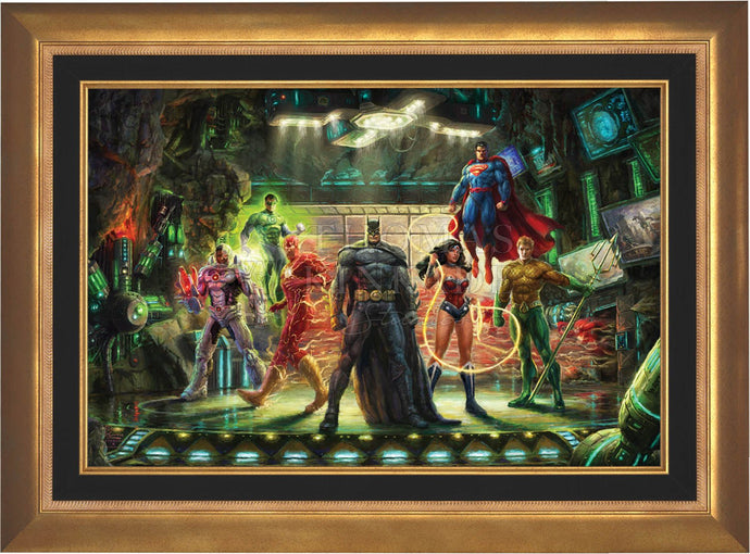 The Justice League - Limited Edition Canvas (SN - Standard Numbered) - ArtOfEntertainment.com