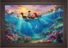 Load image into Gallery viewer, The Little Mermaid Falling in Love - Limited Edition Canvas (JE - Jewel Edition) - ArtOfEntertainment.com