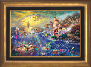 The Little Mermaid - Limited Edition Canvas (SN - Standard Numbered) - ArtOfEntertainment.com