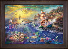 Load image into Gallery viewer, The Little Mermaid - Limited Edition Canvas (SN - Standard Numbered) - ArtOfEntertainment.com