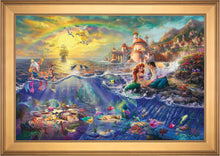 Load image into Gallery viewer, The Little Mermaid - Limited Edition Canvas (JE - Jewel Edition) - ArtOfEntertainment.com