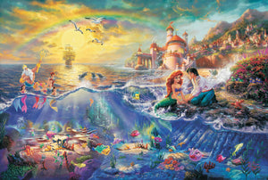 Little Mermaid, The - Limited Edition Canvas - JE - (Unframed)