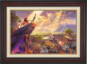 The Lion King - Limited Edition Canvas (SN - Standard Numbered) - ArtOfEntertainment.com