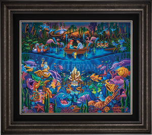 Little Mermaid - Part of Your World - Limited Edition Canvas (SN - Standard Numbered) - ArtOfEntertainment.com