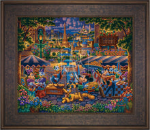 Load image into Gallery viewer, Mickey and Friends in Paris - Limited Edition Canvas (SN - Standard Numbered) - ArtOfEntertainment.com