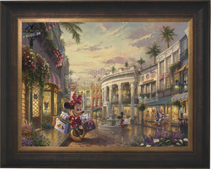 Minnie Rocks the Dots on Rodeo Drive - Limited Edition Canvas (JE - Jewel Edition) - ArtOfEntertainment.com